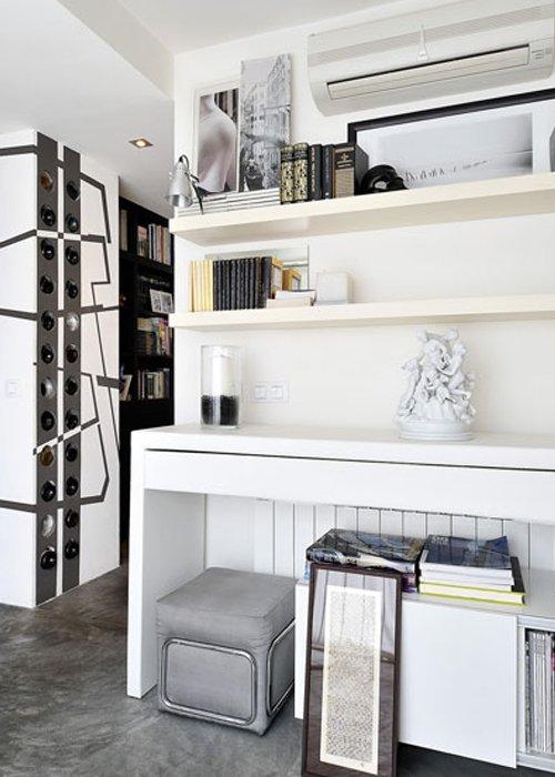 Фотография: Декор в стиле Современный, Декор интерьера, Квартира, Цвет в интерьере, Дома и квартиры, Стены, Мадрид – фото на INMYROOM