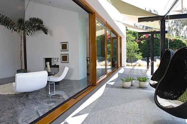 Фотография: Балкон, Терраса в стиле Современный, Декор интерьера, Квартира, Дом, Мебель и свет – фото на INMYROOM
