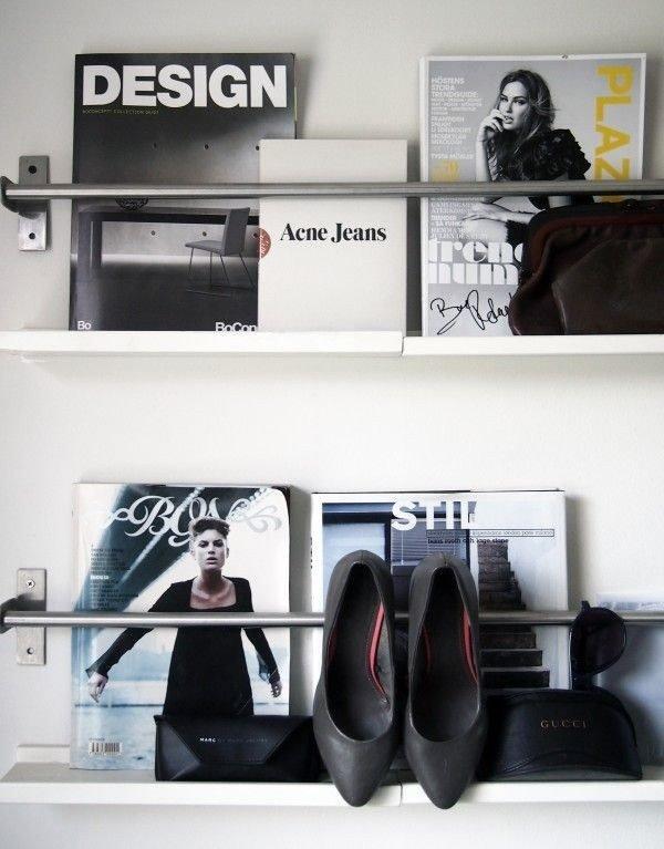 Фотография: Гостиная в стиле Классический, Современный, DIY, Советы, хранение вещей – фото на INMYROOM
