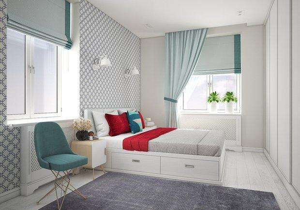 Фотография: Спальня в стиле Скандинавский, Советы, Гид – фото на InMyRoom.ru