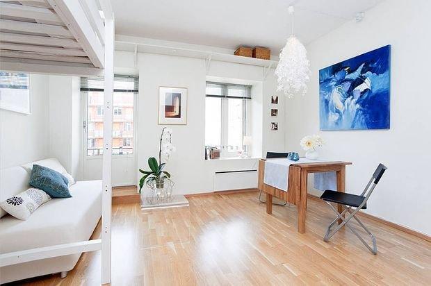 Фотография: Кухня и столовая в стиле Прованс и Кантри, Декор интерьера, Малогабаритная квартира, Квартира, Студия – фото на INMYROOM