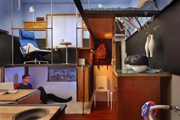 Фотография: Аксессуары в стиле Скандинавский, Современный, Малогабаритная квартира, Квартира, Мебель и свет, Эко – фото на INMYROOM