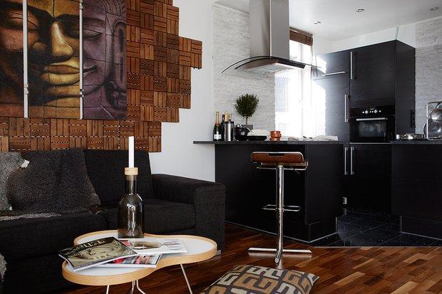 Фотография: Кухня и столовая в стиле Скандинавский, Современный, Декор интерьера, Малогабаритная квартира, Квартира, Дома и квартиры – фото на INMYROOM