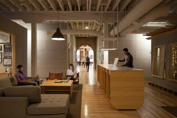 Фотография: Гостиная в стиле Эко, Лофт, Декор интерьера, Офисное пространство, Офис – фото на INMYROOM