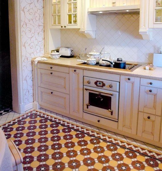 Фотография: Кухня и столовая в стиле Прованс и Кантри, Декор интерьера, Декор дома, Плитка, Ремонт на практике – фото на INMYROOM
