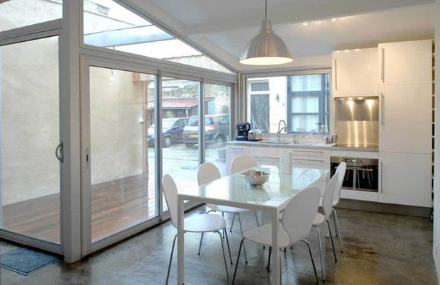 Фотография: Кухня и столовая в стиле Лофт, DIY, Дом, Дома и квартиры, Переделка – фото на INMYROOM