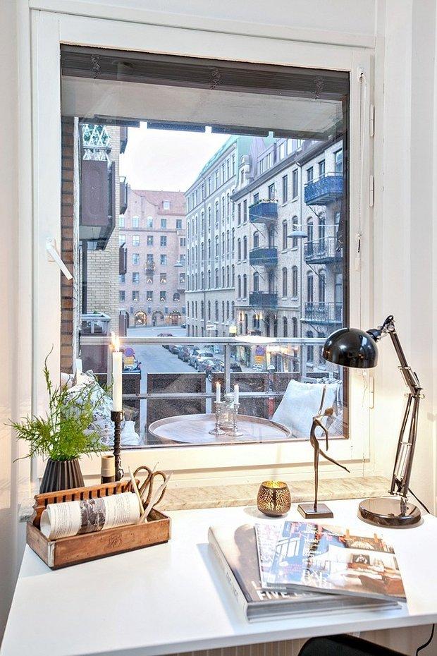 Фотография: Балкон в стиле Скандинавский, Декор интерьера, Квартира, Аксессуары, Декор, Белый – фото на INMYROOM