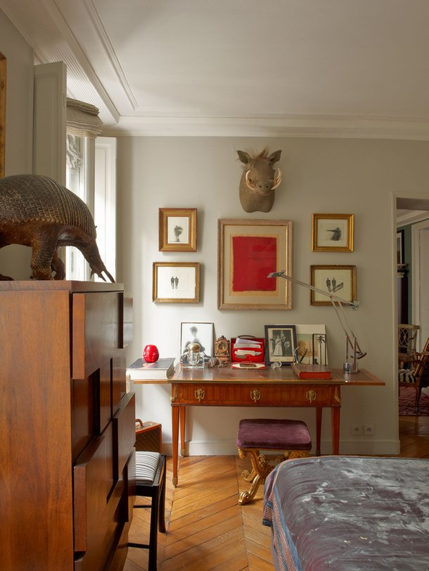 Фотография: Спальня в стиле Эклектика, Декор интерьера, Антиквариат, Праздник, Новый Год – фото на INMYROOM