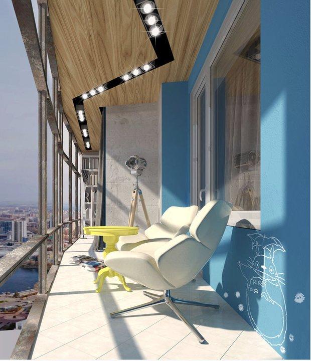 Фотография: Балкон в стиле Эклектика, Современный, Квартира, Советы – фото на INMYROOM