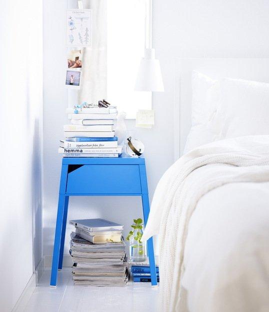Фотография: Спальня в стиле Скандинавский, Индустрия, Новости, IKEA, Ткани, Кресло, Ваза, Стулья, Постеры, Принты, Плетеная мебель – фото на INMYROOM