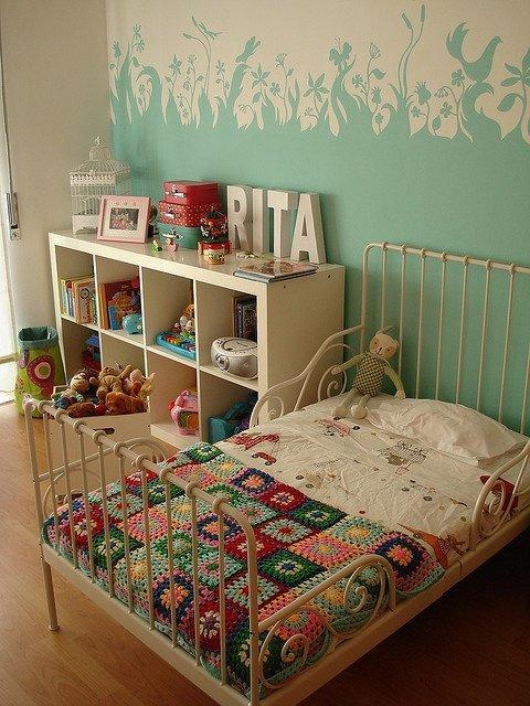 Фотография: Детская в стиле Прованс и Кантри, Декор интерьера, Интерьер комнат, Обои – фото на INMYROOM