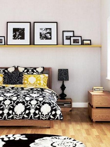 Фотография: Спальня в стиле Современный, Интерьер комнат, Подушки, Ковер – фото на INMYROOM