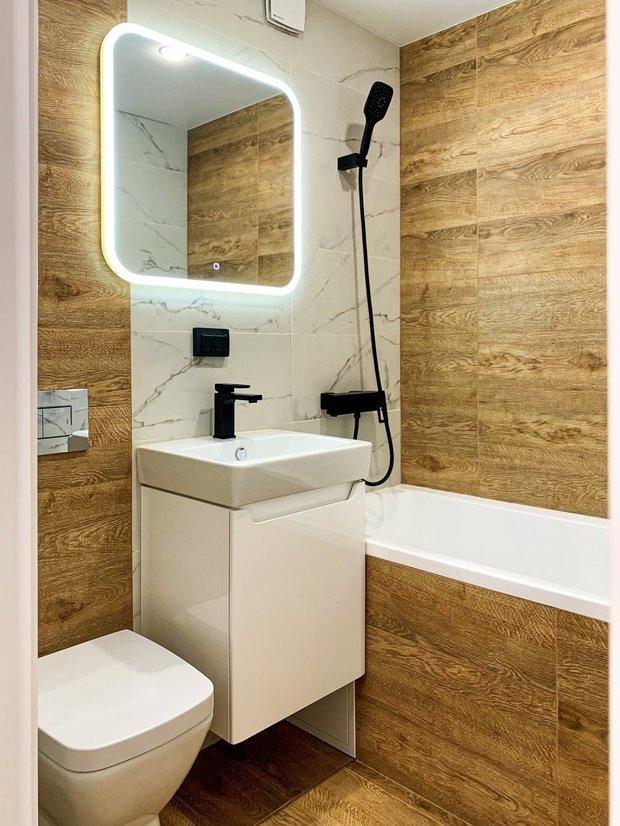 Фотография:  в стиле , Ванная, Гид, совмещенный санузел, дизайн санузла, дизайн совмещенного санузла, идеи для совмещенного санузла – фото на INMYROOM