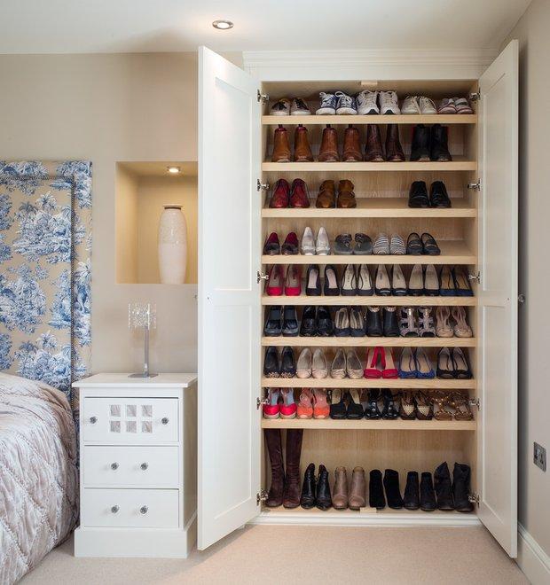Фотография: Спальня в стиле , Гардеробная, Советы, Анна Русскина – фото на INMYROOM