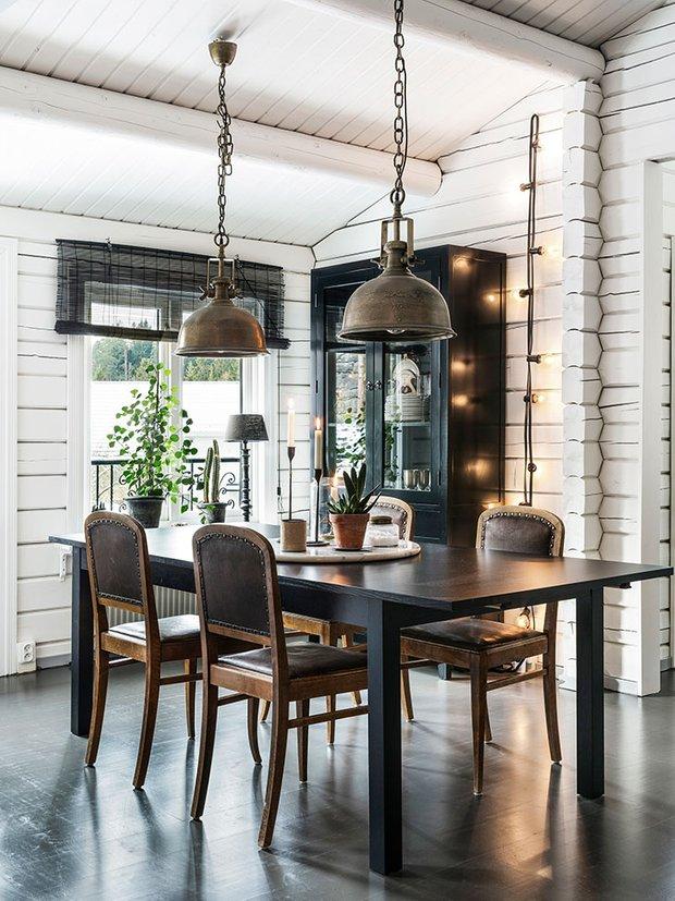 Фотография: Кухня и столовая в стиле Скандинавский, Декор интерьера, Швеция, Дом и дача – фото на InMyRoom.ru