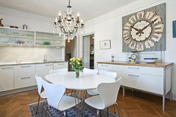 Фотография: Кухня и столовая в стиле Прованс и Кантри, Цвет в интерьере, Стиль жизни, Советы, Белый – фото на INMYROOM