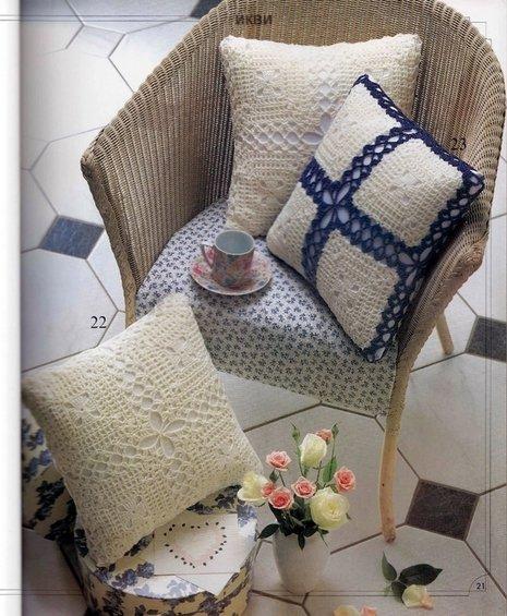 Фотография: Ванная в стиле Лофт, Декор интерьера, Декор дома, Подушки, Вышивка – фото на INMYROOM
