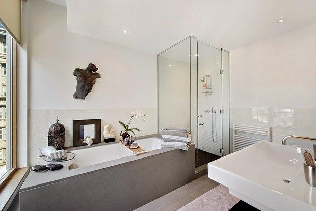Фотография: Ванная в стиле Современный, Декор интерьера, Квартира, Дома и квартиры, Нью-Йорк – фото на InMyRoom.ru