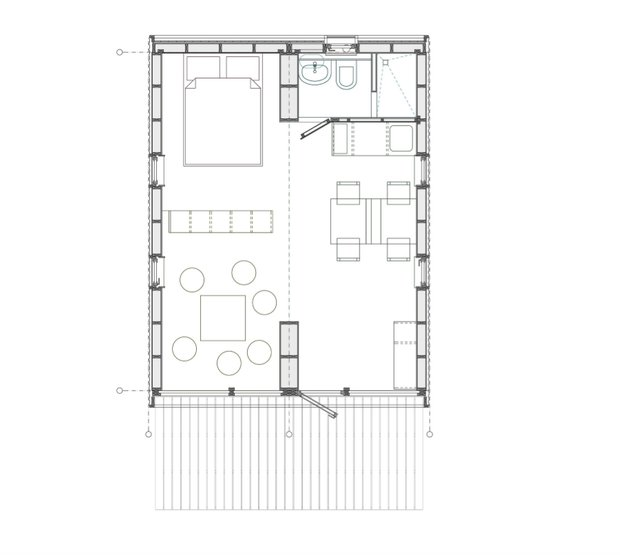 Фотография: Кухня и столовая в стиле Современный, Дом, Архитектура, Эко – фото на INMYROOM