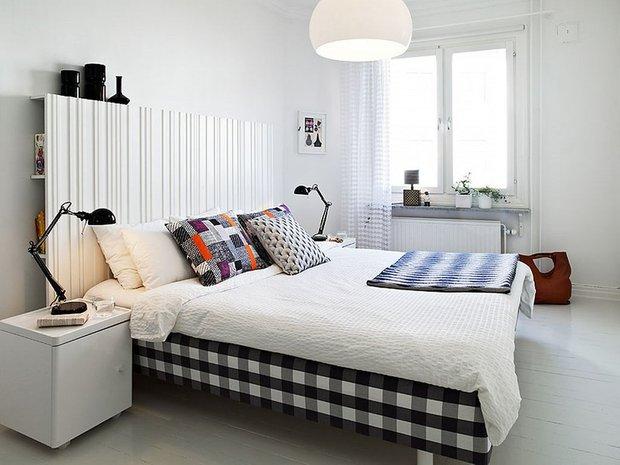 Фотография: Спальня в стиле Скандинавский, Декор интерьера, Декор, Декор дома, Советы – фото на InMyRoom.ru