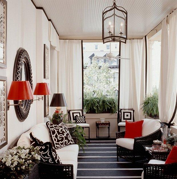 Фотография: Гостиная в стиле Восточный, Дизайн интерьера, Цвет в интерьере – фото на INMYROOM
