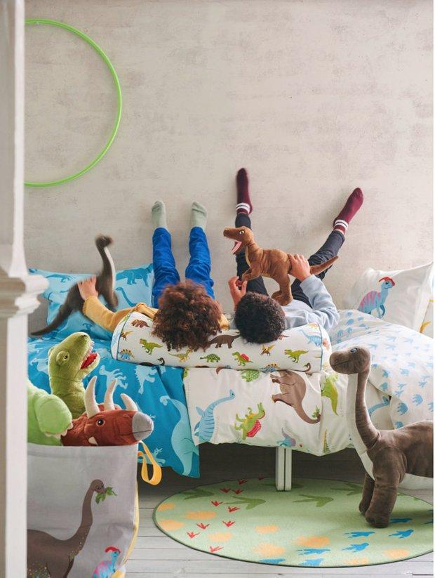 Фотография:  в стиле , Детская, Гид, ИКЕА, товары для детской, динозавры – фото на INMYROOM
