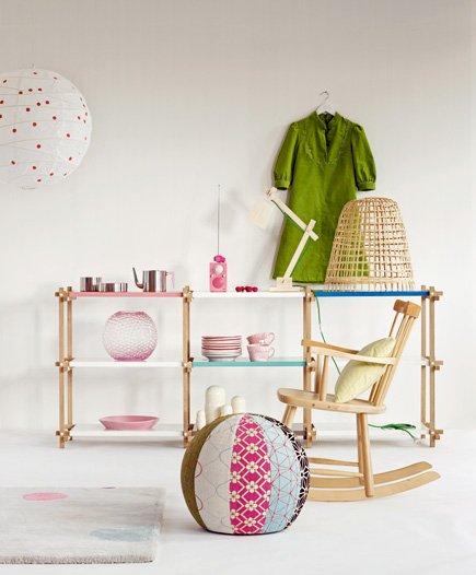 Фотография: Детская в стиле , Декор интерьера, Мебель и свет – фото на INMYROOM