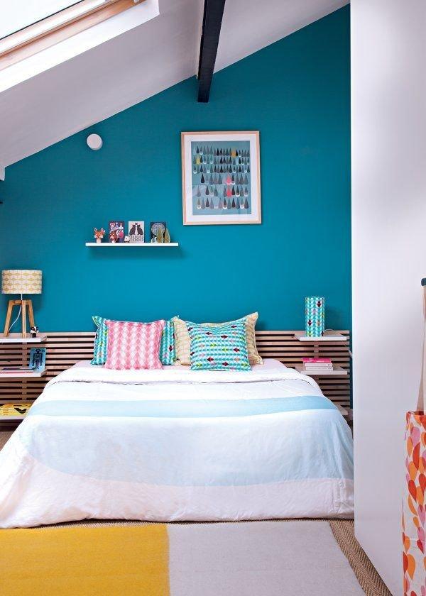 Фотография: Спальня в стиле Современный, Дом, Мебель и свет, Дача, Дом и дача, как обустроить мансарду, идеи для мансарды – фото на INMYROOM