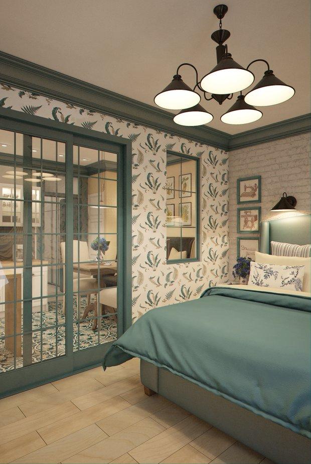 Фотография: Спальня в стиле Прованс и Кантри, Квартира, Gramercy Home, Дома и квартиры, IKEA, Проект недели – фото на INMYROOM