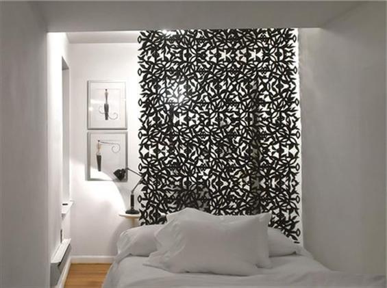 Фотография: Спальня в стиле Современный, Декор интерьера, Декор дома, Ширма, Перегородки – фото на INMYROOM