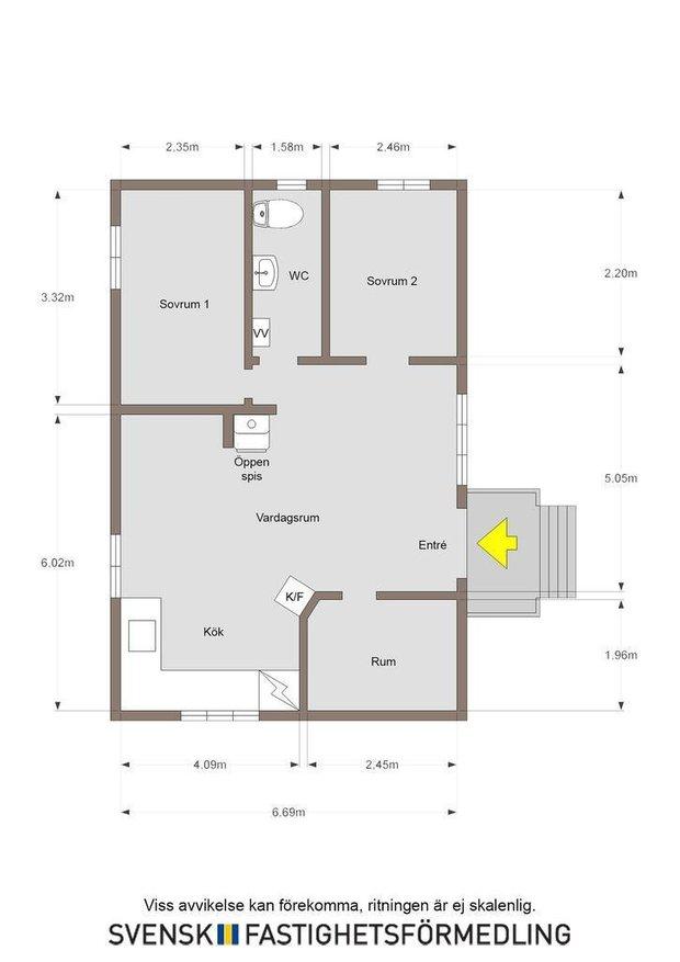Фотография: Планировки в стиле , Скандинавский, Дом, Белый, Минимализм, Красный, Серый, Дом и дача, 40-60 метров – фото на INMYROOM