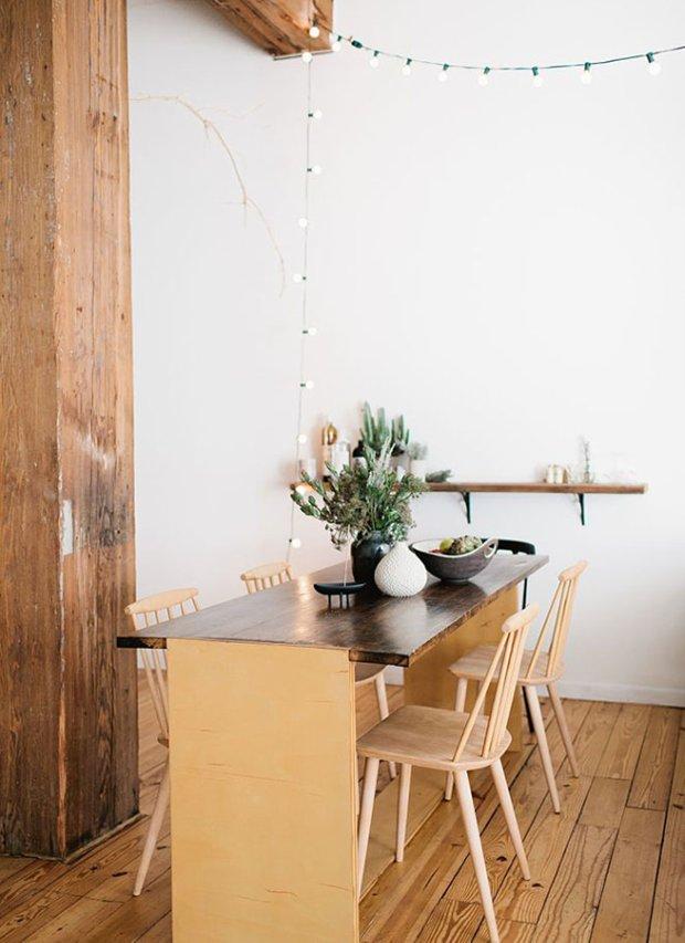 Фотография: Кухня и столовая в стиле Лофт, Скандинавский, Флористика, Стиль жизни – фото на INMYROOM