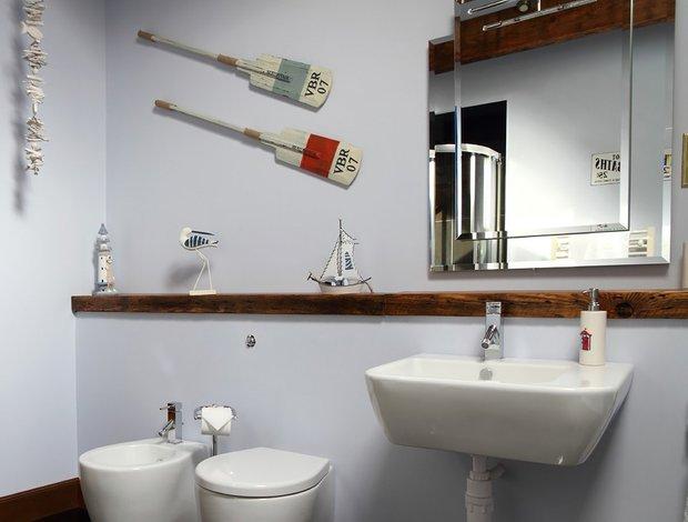 Фотография: Ванная в стиле Современный, Дом, Дома и квартиры, Дача – фото на INMYROOM