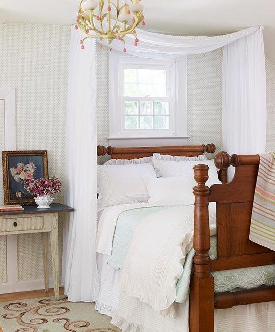 Фотография: Спальня в стиле Классический, Современный, Декор интерьера, Декор, Мебель и свет, Балдахин – фото на INMYROOM