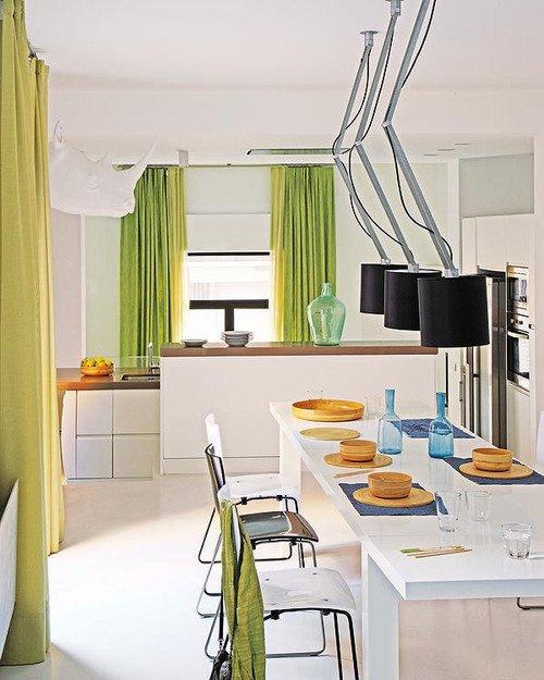 Фотография: Кухня и столовая в стиле Современный, Лофт, Декор интерьера, Квартира, Цвет в интерьере, Дома и квартиры, Белый, Барселона – фото на INMYROOM