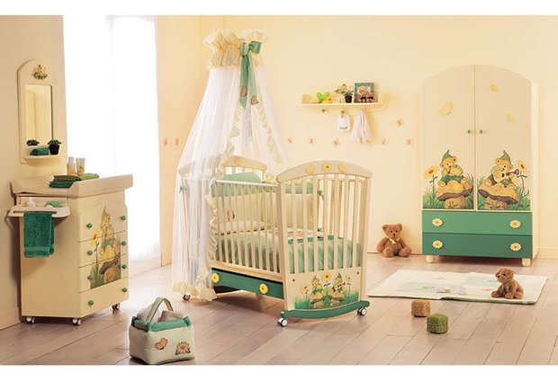Фотография: Детская в стиле Современный, Декор интерьера, Интерьер комнат, Мебель и свет – фото на INMYROOM
