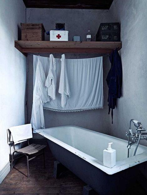 Фотография: Ванная в стиле Лофт, Декор интерьера, Дом, Дома и квартиры – фото на INMYROOM