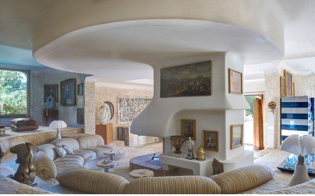 Фотография: Гостиная в стиле Прованс и Кантри, Современный, Дома и квартиры, Интерьеры звезд – фото на INMYROOM