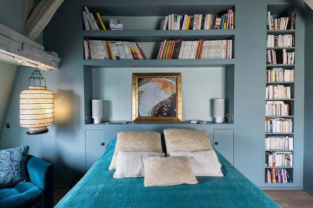 Фотография: Спальня в стиле Скандинавский, Советы, хранение вещей – фото на INMYROOM