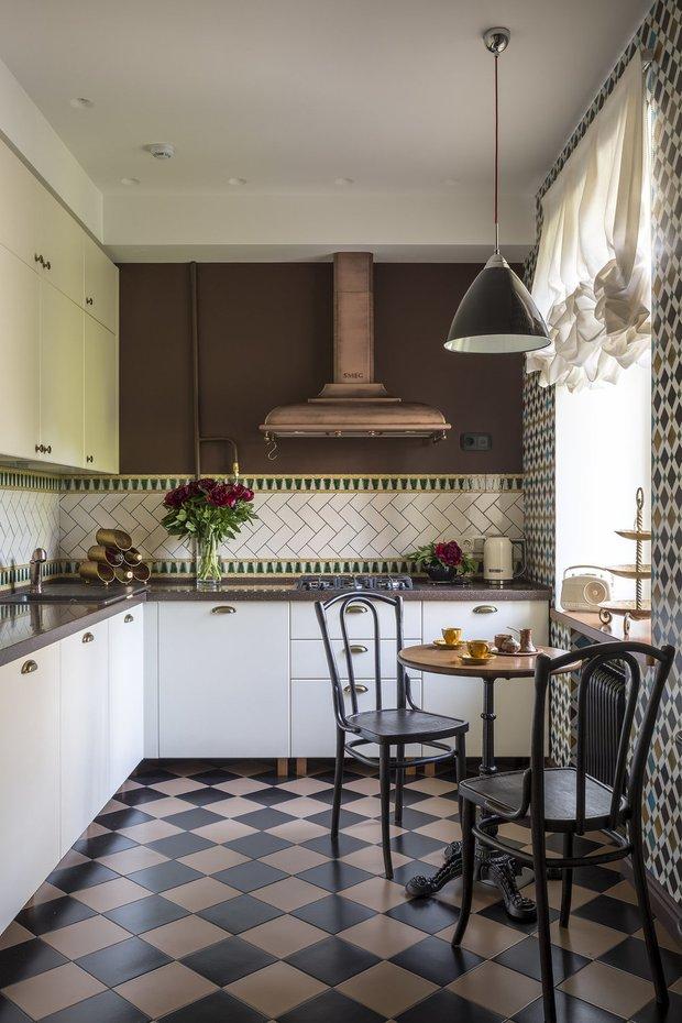 Фотография: Кухня и столовая в стиле Прованс и Кантри, Квартира, Советы – фото на INMYROOM