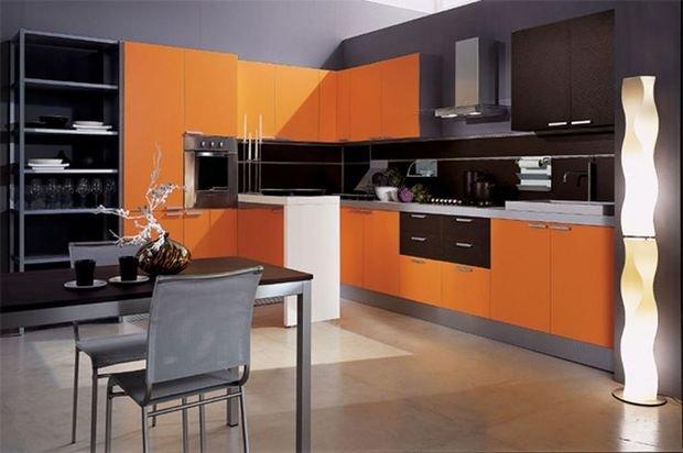 Фотография: Спальня в стиле Скандинавский, Кухня и столовая, Декор интерьера, Квартира, Дом, Декор, Оранжевый – фото на INMYROOM