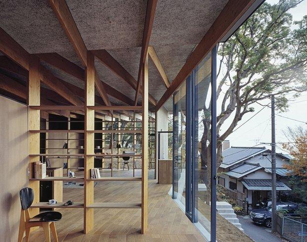 Фотография:  в стиле Современный, Дом, Дома и квартиры, Япония – фото на InMyRoom.ru