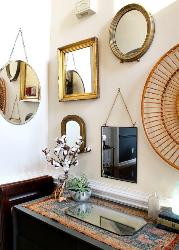 Фотография:  в стиле , Декор интерьера, Зеркала, декор зеркалами – фото на INMYROOM
