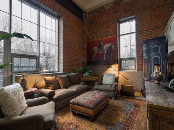 Фотография: Гостиная в стиле Лофт, Современный, Декор интерьера, Квартира, Дом, Декор дома, Стена – фото на INMYROOM