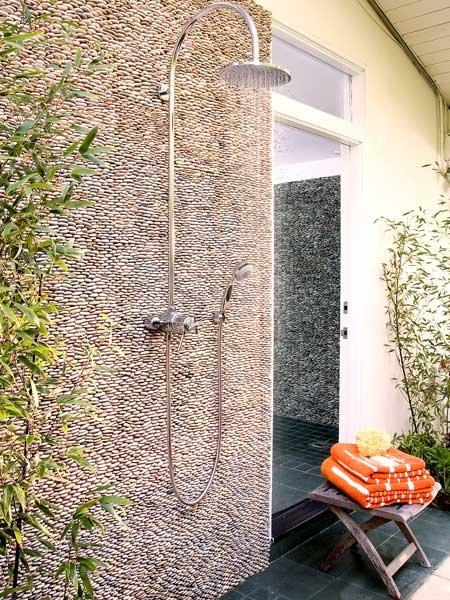 Фотография: Ванная в стиле Современный, Ландшафт, Стиль жизни, Дача – фото на INMYROOM