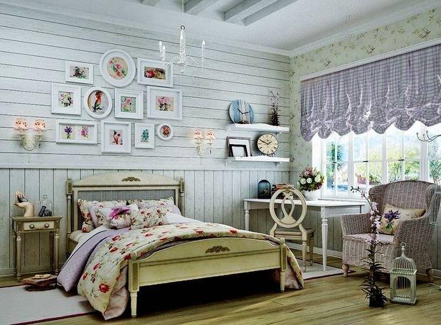 Фотография: Спальня в стиле Прованс и Кантри, Декор интерьера, Квартира, Дом, Декор – фото на INMYROOM