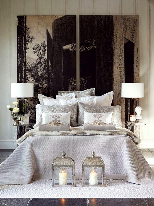 Фотография: Спальня в стиле Восточный, Декор интерьера, Квартира, Дом, Декор дома, Текстиль, Zara Home – фото на INMYROOM