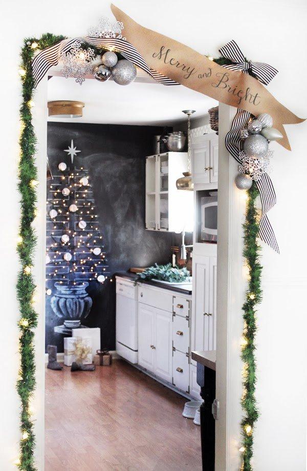 Фотография: Кухня и столовая в стиле Скандинавский, Декор интерьера, Праздник, Новый Год – фото на INMYROOM