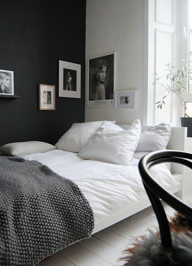 Фотография: Спальня в стиле Современный, Интерьер комнат, Хрущевка – фото на INMYROOM