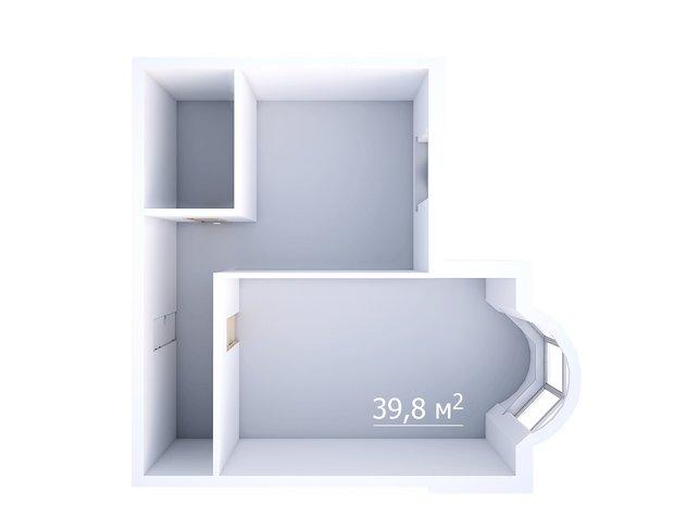 Фотография: Прочее в стиле , Квартира, Планировки, Дома и квартиры, Перепланировка, Панельный дом, И-155, 1 комната, до 40 метров – фото на INMYROOM